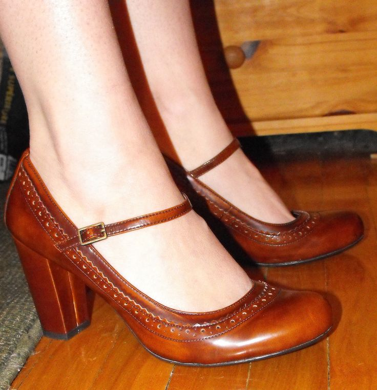 Mary Janes. Used to have some similar. Loved them!
