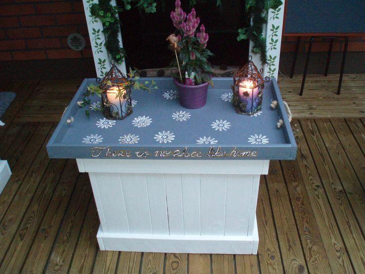 diy ideas Terrace tray table by myself