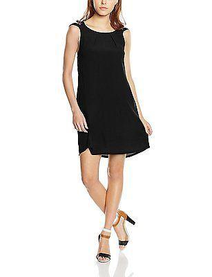 8, Black, Color Block Women's 6126086 Sleeveless Dress NEW