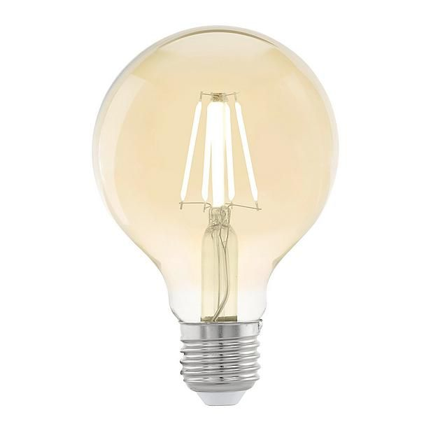 eglo e27 4 watt led lamp 4w e27 verschillende variaties verkrijgbaar led lampen met vintage. Black Bedroom Furniture Sets. Home Design Ideas