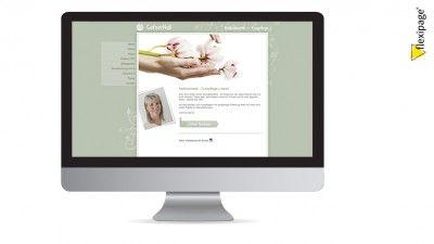GafnerNail, Lotzwil, Flexipage, Webdesign, Internetauftritt