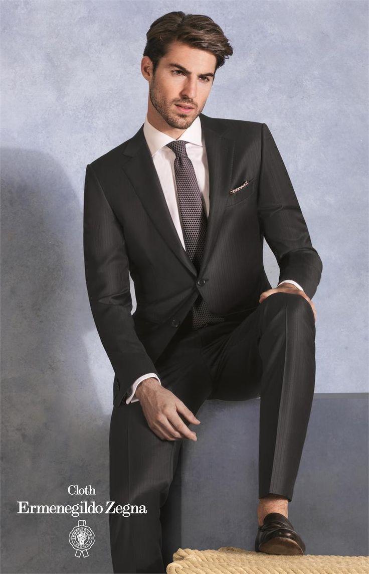 1000+ ideas about Black Pinstripe Suit on Pinterest ...
