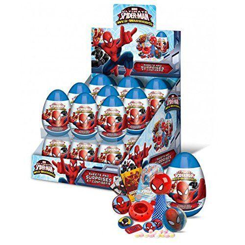 """Comprar huevos sorpresa Spiderman encontraras sorpresas de todo tipo desde juguetes de nuestro héroe favorito y objetos divertido, una buena compra para cumpleaños de niños que le guste Spiderman el… Continue reading """"Huevos sorpresa Spiderman"""""""