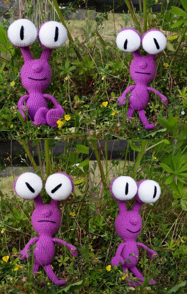 19 best aliens(crochet) images on Pinterest | Monster ...
