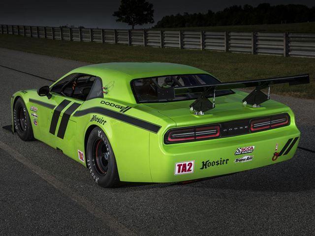 Dodge Challenger SRT Trans Am Race Car Dewite Preston Of Illumini Concepts