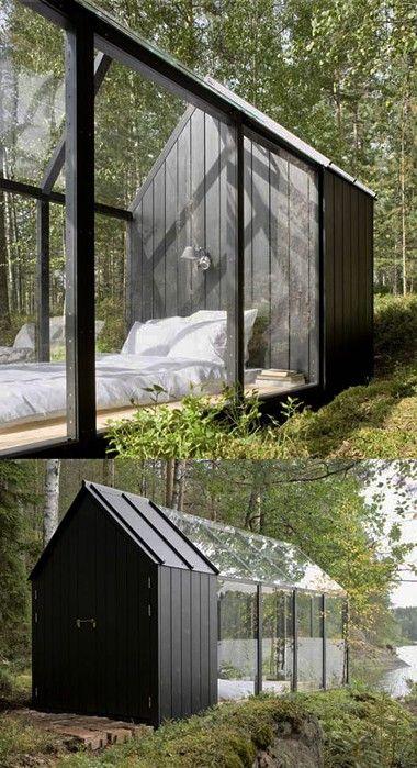 Sleeping cabin- very dreamy.