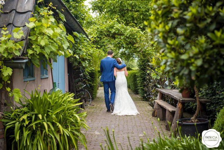 Bruiloft Sjors & Marieke Domaine d'Heerstaayen Patricia fotografeert.