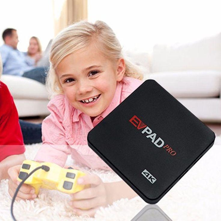 EVPAD Pro 1GB 16GB IPTV UBTV UNBLOCK UBOX Smart Android TV Box BT 4.0 HD  Set Top Box 1000channels Overseas Chinese