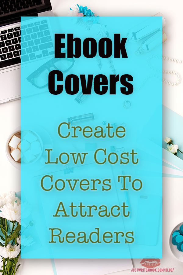 Ebook Covers: Create Low Cost Covers To Attract Readers - If you're writing short fiction, you need to source many ebook covers, and it's expensive. What if you could create your own covers? You can. #selfpublishing #writing