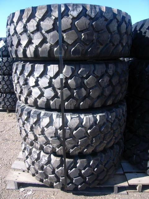 Michelin X 395/85R20 XZL pneumatic tires coming up for auction! These tires have rims, are radial, regroovable and tubeless.