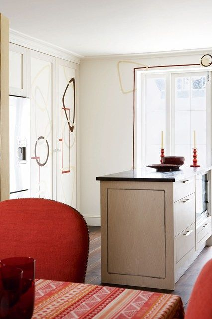 17 best ideas about cream kitchen designs on pinterest Red and cream bedroom ideas