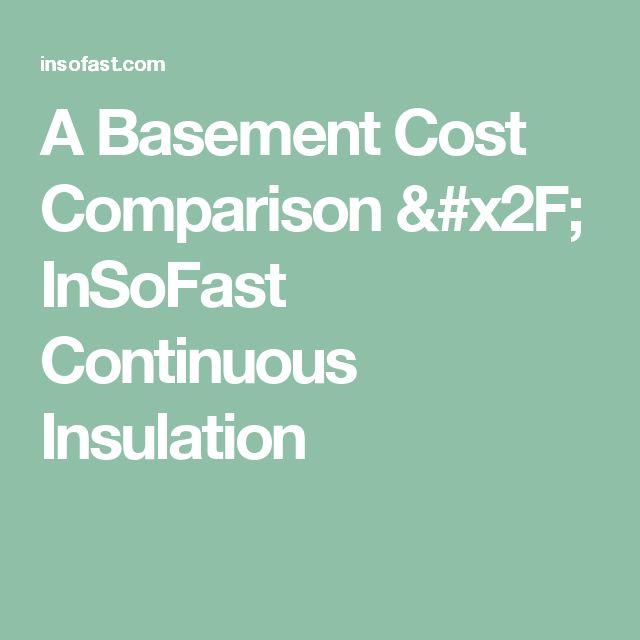 1000+ Ideas About Basement Insulation On Pinterest