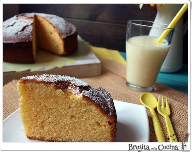 Bizcocho de maíz y limón (Sin gluten) | Cocina