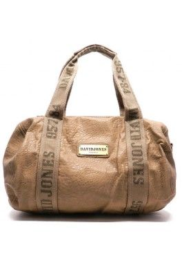 Sac polochon david jones Beige