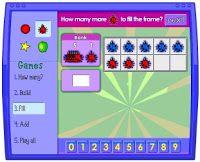 Blog de los niños. Juegos para aprender a sumar. Free children's educational games for learning adittion.