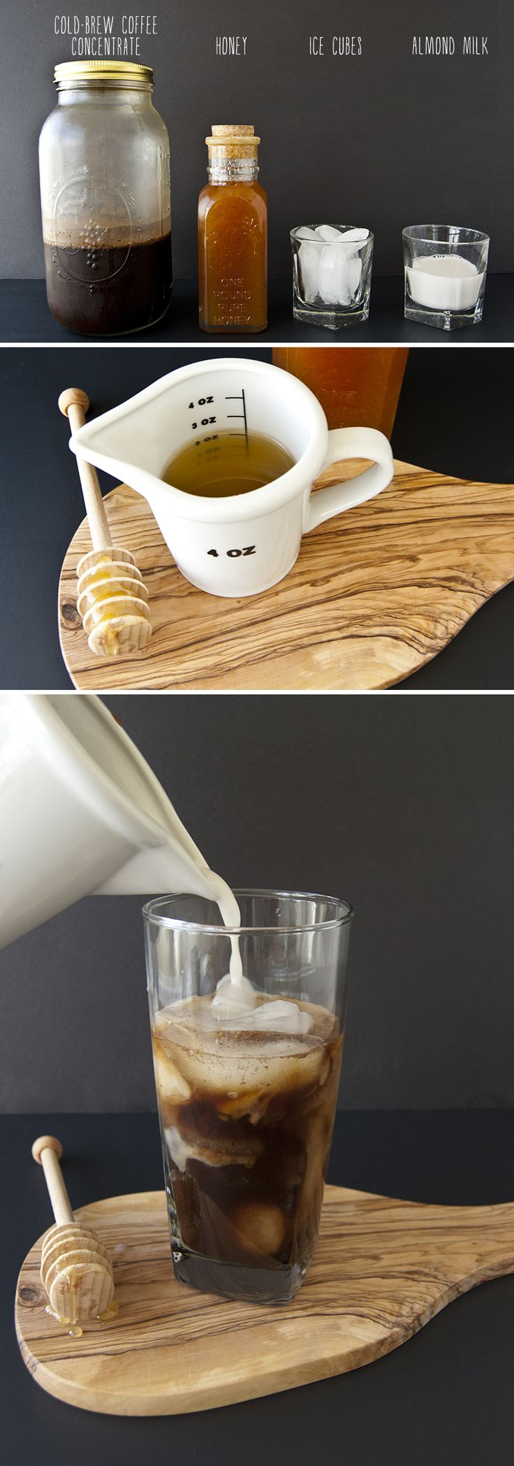 how to make good iced coffee with almond milk