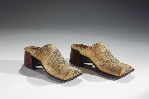 Until the Enlightenment, heels were a status symbol for men (Picture: Bata Shoe Museum)