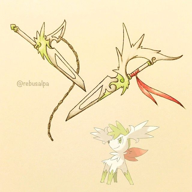 Shaymin was always so cute, but if I saw someone with this running at me I'd be terrified