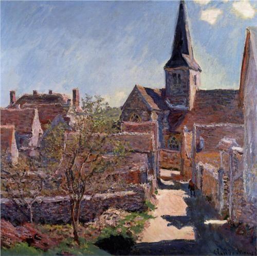 Bennecourt - Claude Monet 1885