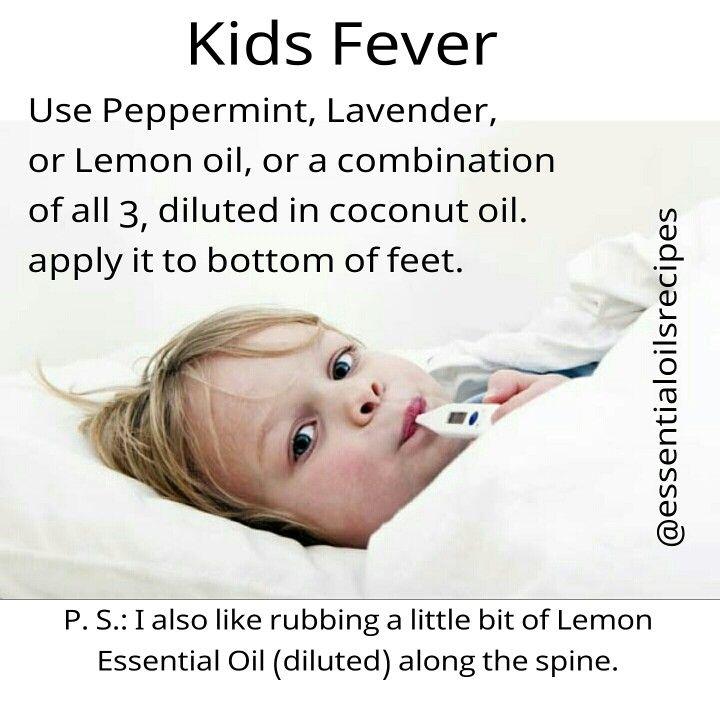 Essential oils for kids fever