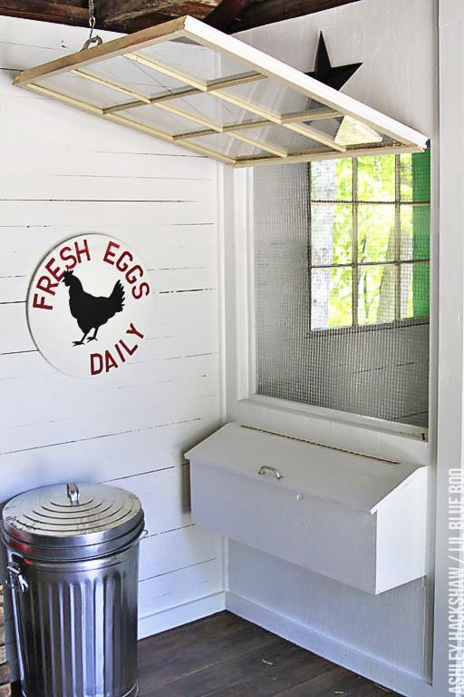 Building Nesting Boxes - How To Build External Nest Boxes for a chicken coop