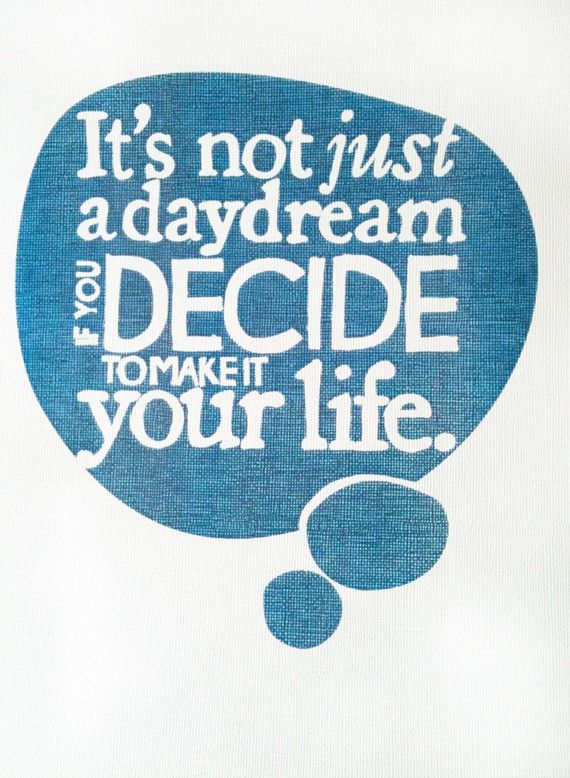 make it your life...