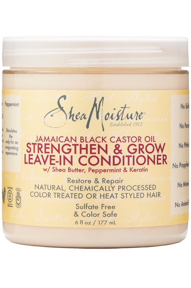 It's easy to fall in love with smooth, shiny, frizz-free curls but what about unmanageable, dry, frazzled hair? Say hello to SheaMoisture's Jamaican Black Castor Oil Strengthen, Grow & Restore Leave-i