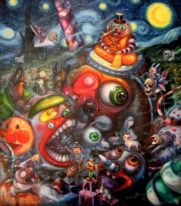 Interview with pop surreal artist aof smith art lowbrow