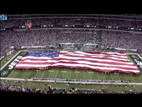 ▶ Taps Played Before Cowboys vs. Jets Game - 9/11 Tribute (9-11-2011) - YouTube