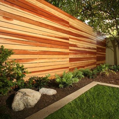 Fence- use pallet wood instead? | Fence ideas | Pinterest