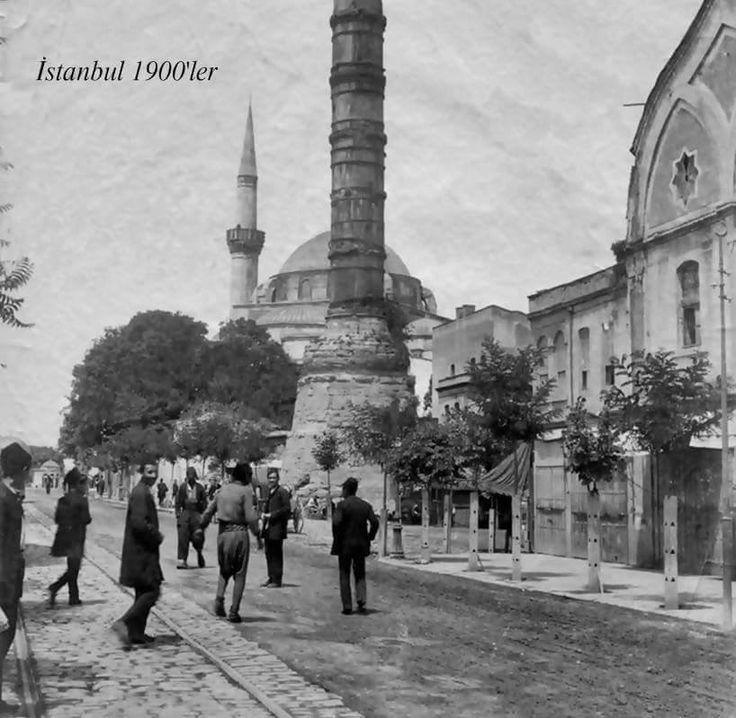 istanbul Çemberlitaş 1900'ler.