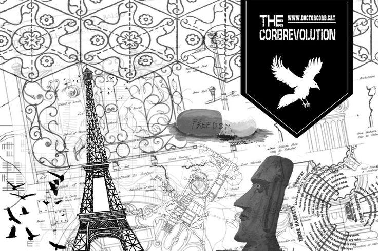 The EXPO #corbrebolution flyer
