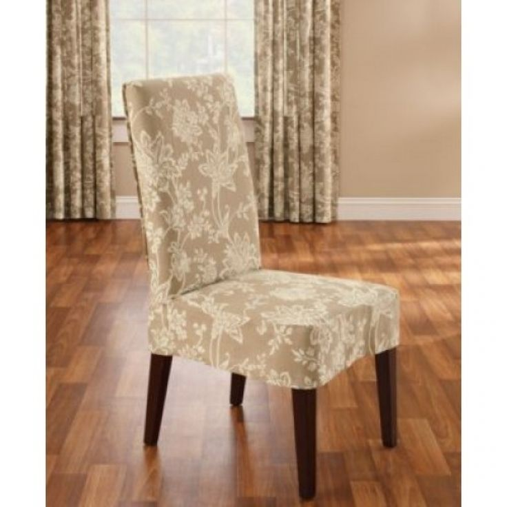 Sure Fit Verona Short Dining Room Chair Cover