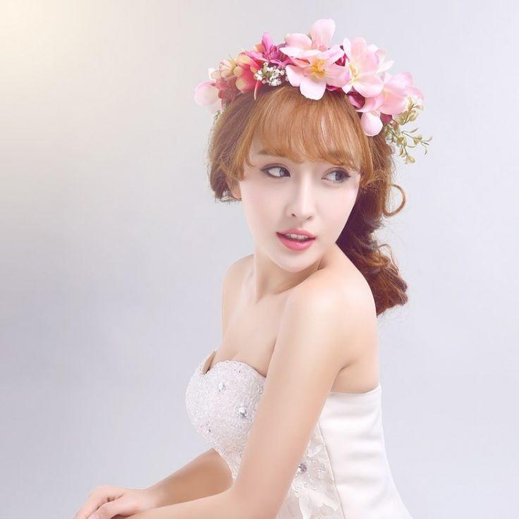 wianek kwiatowy ozdoba opaska ślub sesja zdjeciowa (6136953584) - Allegro.pl - Więcej niż aukcje.