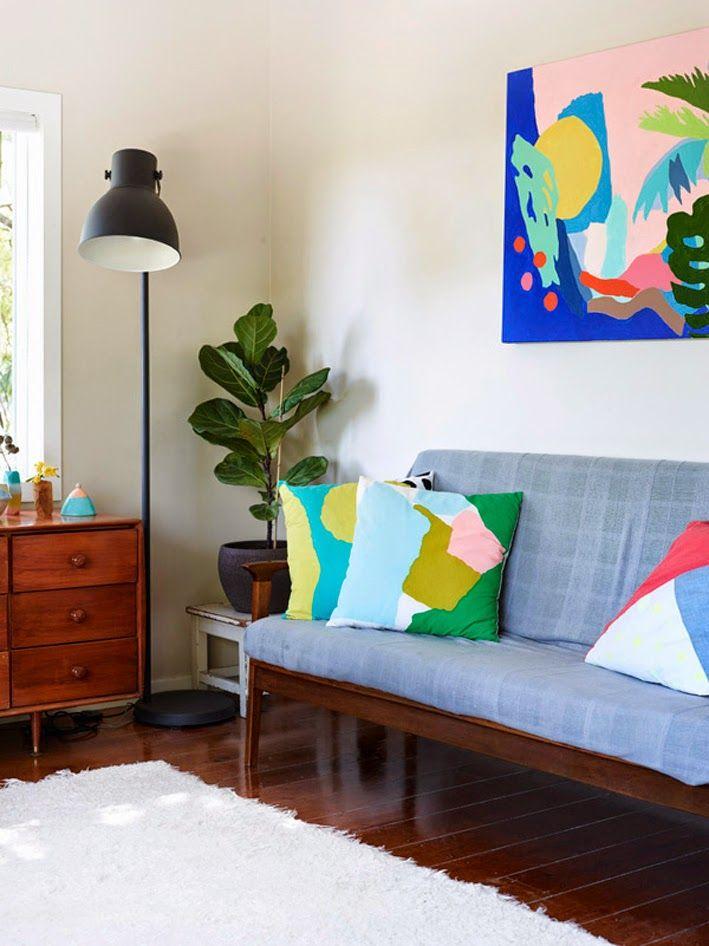 66 best Wohnzimmer living room images on Pinterest Live - wohnzimmer violett braun