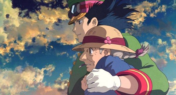Howl S Moving Castle 2004 Animation Screencaps In 2020 Howl S Moving Castle Howls Moving Castle Ghibli Artwork