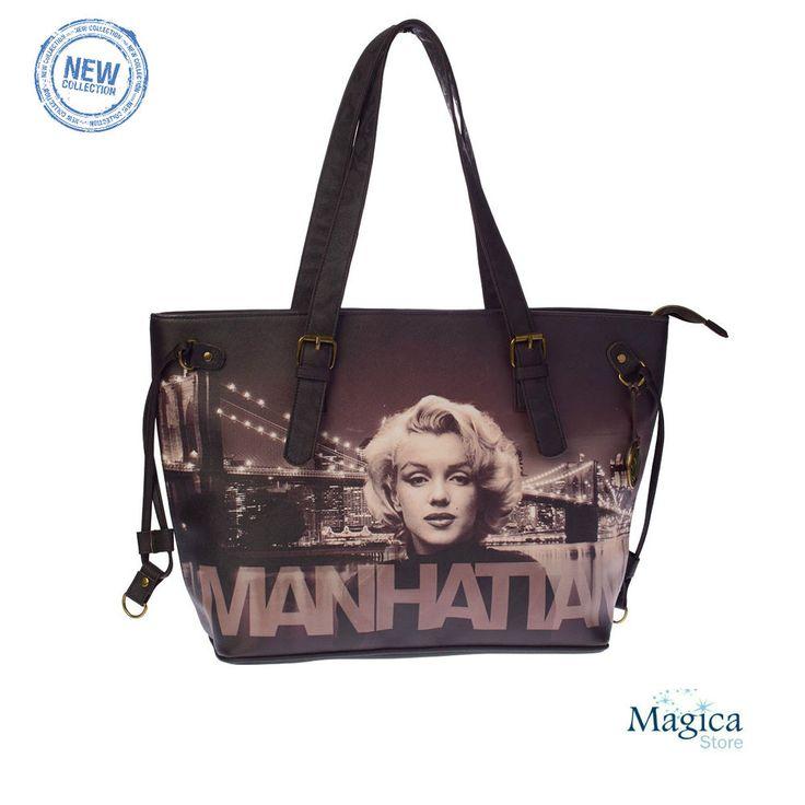 Womans Fashion Tote Shopper bag + purse *MANHATTAN* New | Authentic | Licensed* #Karactermania #TotesShoppers