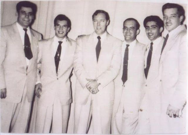 """Let´s Keep the 50´s Spirit Alive!: February 20, 1958 - Bill Haley and his Comets, Jerry Lee Lewis, Buddy Holly and the Crickets, The Everly Brothers and Jimmie Rodgers begin the """"Big Gold Record Stars"""" tour in Florida"""