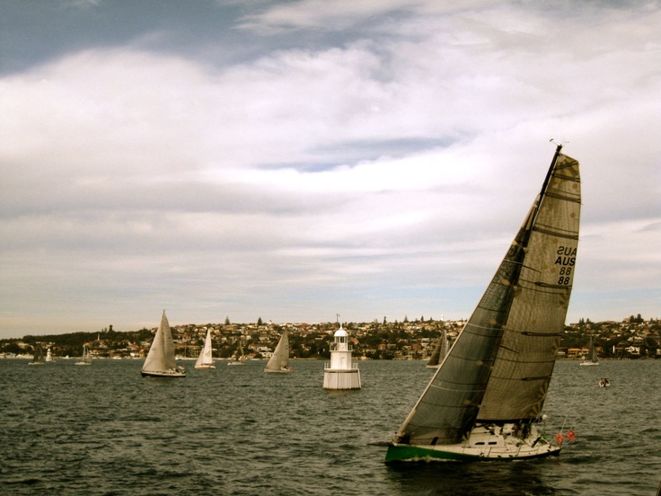 Sail away. Manly Island, Sydney