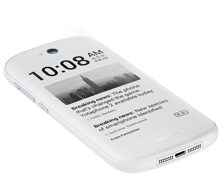 YotaPhone 2 gets huge update with Android 5.0 Lollipop, new e-ink screen features, white color and slashed price