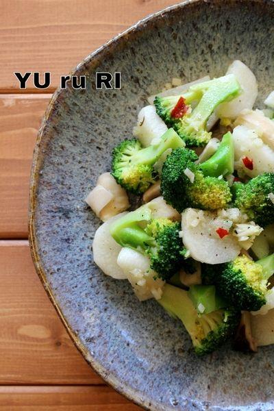 ブロッコリーと長芋とエリンギのペペロン by yuriさん | レシピブログ ...