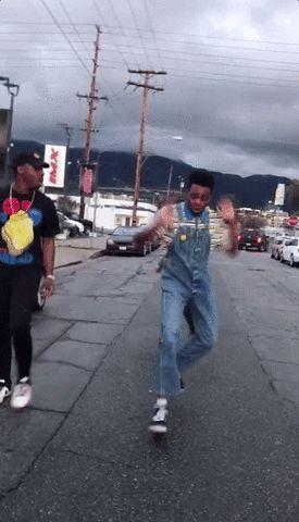 New party member! Tags: dancing joy happy dance optimistic jay versace
