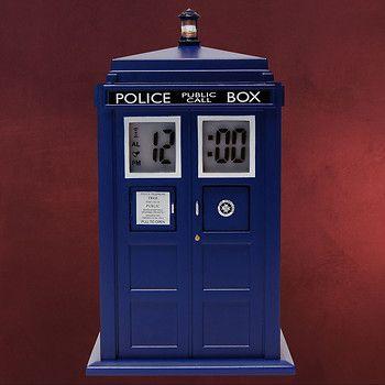 Doctor Who - Tardis Wecker mit Projektion