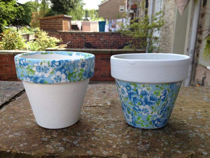 Decopatch Plant Pots