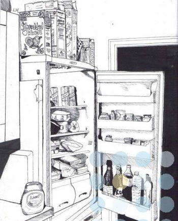 fridge by lottie hulse