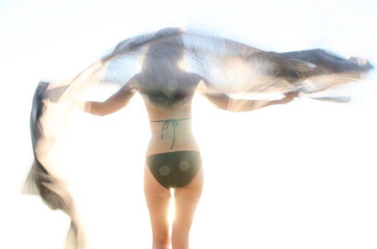 Trilogy... #selfportrait#NikonD 9000#overexposed#backlight#cashmerescarf #transparency#fineartphotography #lechuzabeach #swimsuit#bikini#nofilter#noretouch#