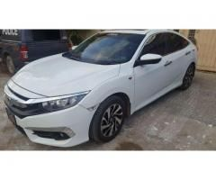 Honda civic 2017 for sale in good amount