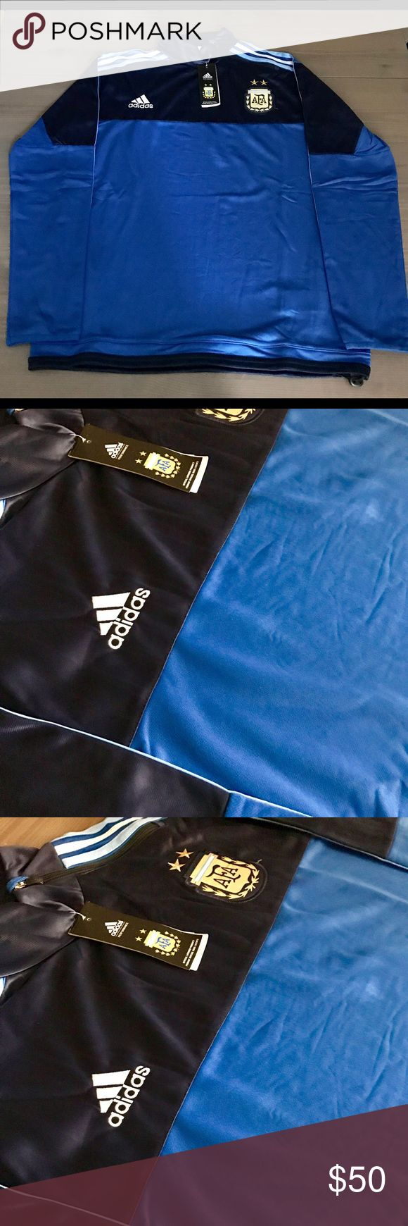 Argentina National team Sweater jacket adidas New Argentina National team Sweater jacket 16/17 adidas addidas Jackets & Coats Lightweight & Shirt Jackets