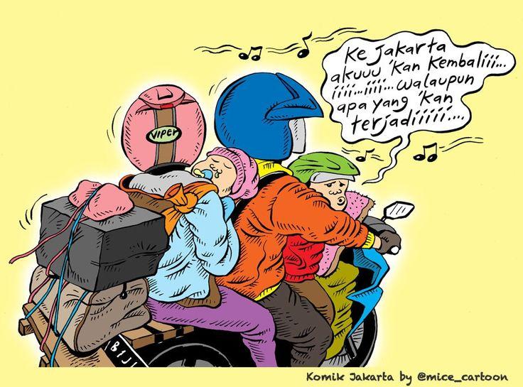 Mice Cartoon, Komik Jakarta - Juli 2015: Ke Jakarta Aku 'Kan Kembali