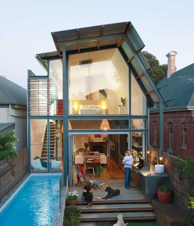 Modern Addition to an 1880s Bungalow (Kylie Brammy and George Kyprianou Residence, Adelaide, Australia)